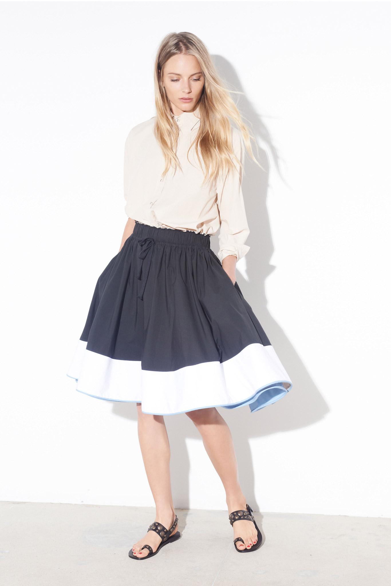 Модная юбка для девушки фото
